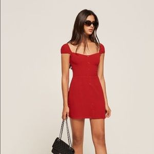 Reformation sunset dress